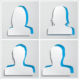 Set of avatars Stock Images