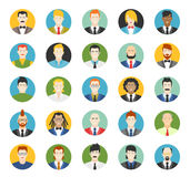 Set of avatars. Vector illustration, flat icons. Characters for web vector illustration