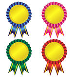 Set of award ribbon  Royalty Free Stock Photos