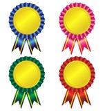 Set of award ribbon  Royalty Free Stock Photos