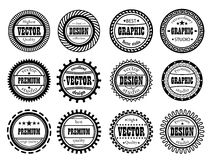 Set award stamp for  studios Royalty Free Stock Photos