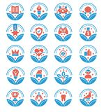 Set of Awards Vector Icons - vector sign vector illustration