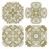 Set aztec ornaments Royalty Free Stock Photo