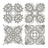 Set aztec ornaments Stock Images