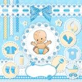 Set baby design elements. Stock Images