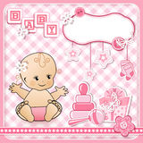 Set baby design elements. Stock Images