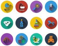 Set of baby icons Stock Photo