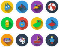 Set of baby icons Royalty Free Stock Image