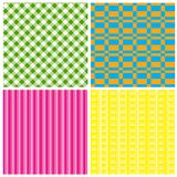 Set of Background. Set of four differently colored backgrounds vector illustration