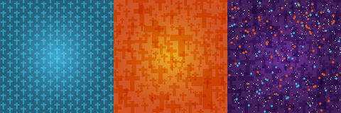 Set background dark orange, blue, purple color halloween  Royalty Free Stock Image