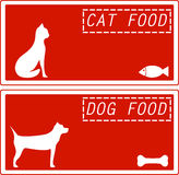 Set background for pet food Royalty Free Stock Image