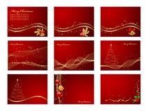 Set backgrounds Royalty Free Stock Image