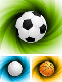 Set of backgrounds Royalty Free Stock Photo