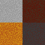 Set of backgrounds colored circles Royalty Free Stock Images