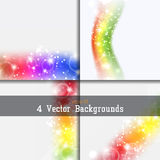 Set of backgrounds Royalty Free Stock Photos