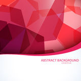 Set of backgrounds with Hexagons. Stock Images