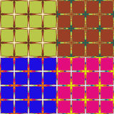 Set of backgrounds rectangles Stock Photo