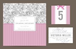 Set backgrounds to celebrate the wedding. Royalty Free Stock Photos