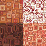Set backgrounds.Vector. Royalty Free Stock Image