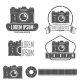 Set of badge, emblem, label and elements for Stock Photo