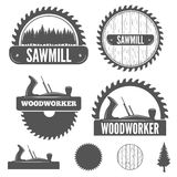 Set of badge, labels or emblem elements for Royalty Free Stock Image