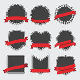 Set of badge and labels Stock Image