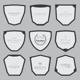 Set of Badge Template Stock Images