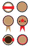 Set of badges Royalty Free Stock Image
