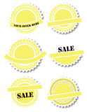 Set of Badges Stock Images