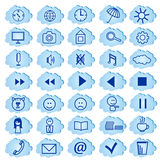 Set of badges, icons for a site. Vector Stock Photo