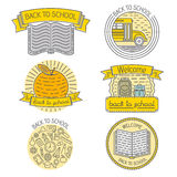 Set of badges, labels, design elements and Royalty Free Stock Photo