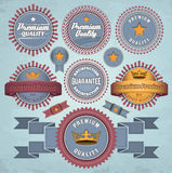 Set of badges and labels Royalty Free Stock Photography