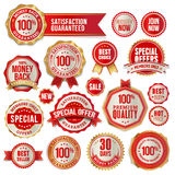 Set of badges and stickers Royalty Free Stock Photos