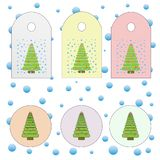 A set of badges and tags stock illustration