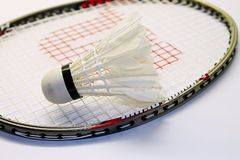 Set of badminton Stock Photography