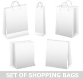 Set of bag Royalty Free Stock Photography