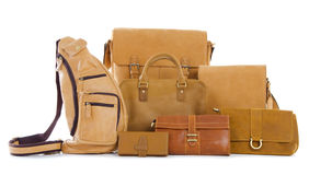 Set of bags Royalty Free Stock Photography