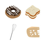 Set of bakery icons Royalty Free Stock Images