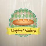 Set of Bakery Logos Vintage Retro Stock Photo