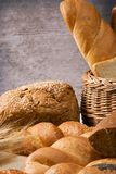 Set of bakery products Royalty Free Stock Photos