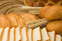 Set of bakery products Stock Image