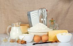 Set for baking Royalty Free Stock Photography