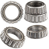 Set of ball bearings isolated Stock Photos