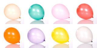 Set Of Balloon Stock Photos