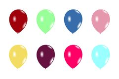 Set balloons Stock Photography