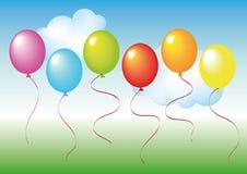 Set of balloons Royalty Free Stock Photo