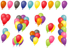 Set of balloons Royalty Free Stock Image