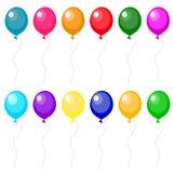 Set of balloons. Vector illustration Stock Photo