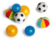 Set of balls Stock Photos