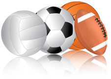 Set balls Stock Images